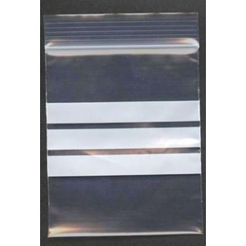 "Write-on gripseal bag - 140 x 140 mm (5.5x5.5"") 50mu  (200g)"