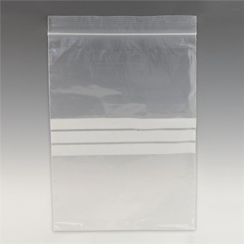 Write-on gripseal bag - 127 x 191 mm (5.0x7.5) 50mu (220g)